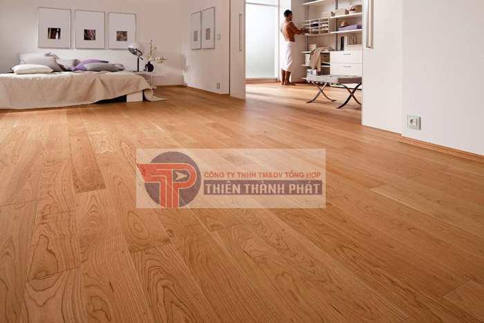 Sàn gỗ cho phòng ngủ chỉ cần đáp ứng được các yêu cầu như thẩm mỹ đẹp và đảm bảo cách nhiệt