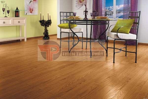 Sàn gỗ công nghiệp không độc hại, thân thiện với môi trường