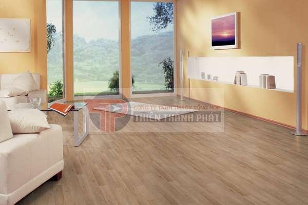 Sàn gỗ công nghiệp sở hữu nhiều tính năng nổi bật