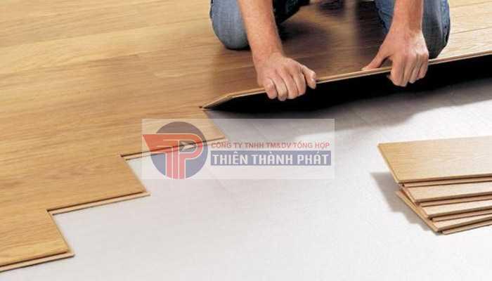 Lắp đặt các loại sàn gỗ có khả năng chống mối mọt tốt