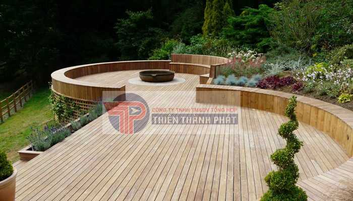 Sàn gỗ công nghiệp ngoài trời là loại sàn được làm từ chất liệu nhựa gỗ hay còn gọi là AWood WPC