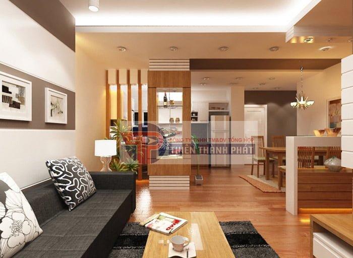 Sàn gỗ công nghiệp dùng để lát sàn tầng một phải đảm bảo là các sản phẩm có chất lượng cao