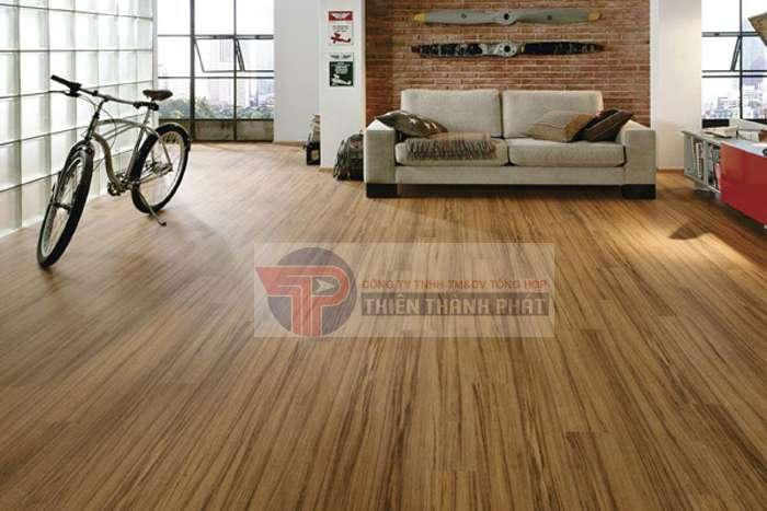 Với sàn gỗ công nghiệp, không gian sống sẽ đạt được sự sang trọng và tinh tế nhất