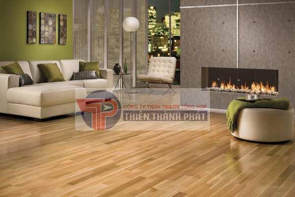 Sàn gỗ công nghiệp rất dễ để thi công lắp đặt hoặc dễ dàng tháo dỡ khi cần sửa chữa, thay thế.