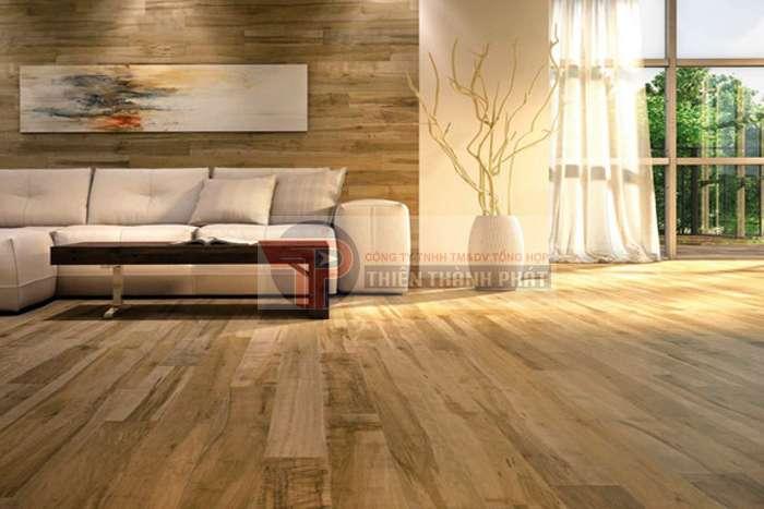 Sàn gỗ công nghiệp có khả năng chống mối mọt, ẩm mốc tốt
