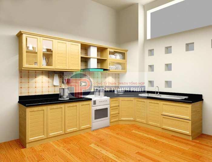 Đối với phòng bếp, hãy lựa chọn những gam màu tối hoặc trung tính