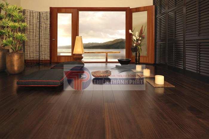 Sàn gỗ công nghiệp có nhiều ưu điểm nổi bật
