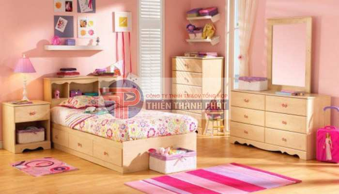Lựa chọn màu sắc sàn gỗ công nghiệp theo ý thích của bé