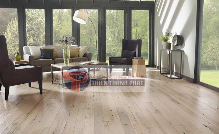Lựa chọn sàn gỗ công nghiệp có khả năng chống trơn trượt