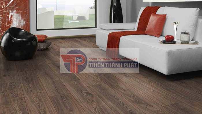 Sàn gỗ công nghiệp vân sần là loại ván sàn gỗ có bề mặt nhám