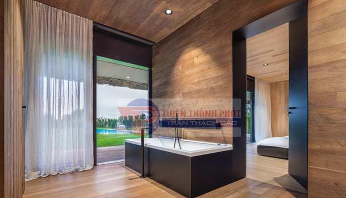 Sàn gỗ công nghiệp tốt dành cho phòng tắm