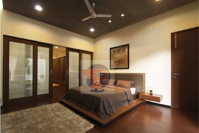 Sàn gỗ công nghiệp được biết đến là vật liệu có tính năng cách nhiệt rất tốt