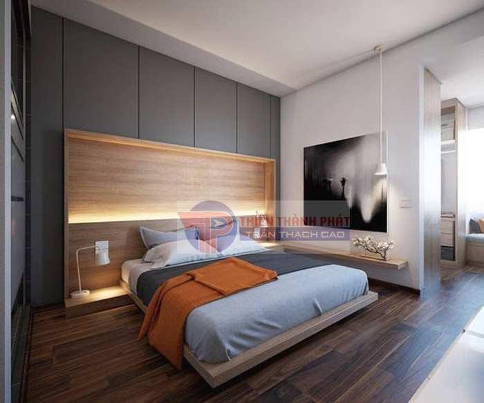 Phòng ngủ ấm cúng hơn với vách thạch cao Đà Nẵng