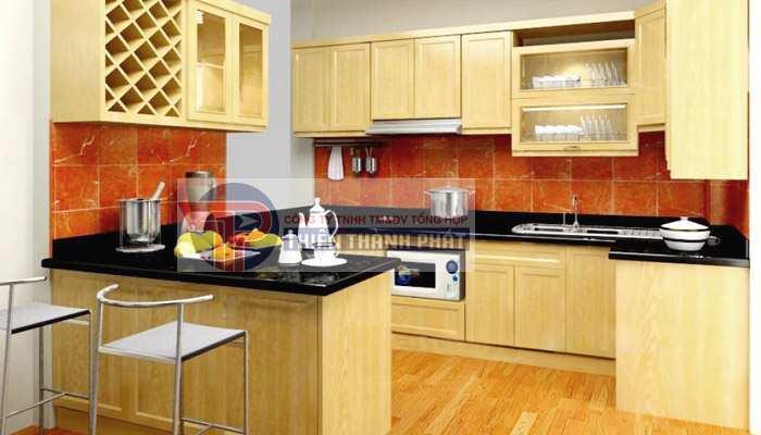 Chuyên lắp đặt sàn gỗ công nghiệp phòng bếp Đà Nẵng đảm bảo chất lượng