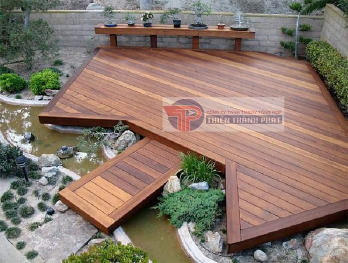 Bí quyết sử dụng sàn gỗ ngoài trời Conwood bền lâu hơn